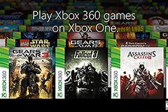 Xbox One向下相容功能 臺灣11月13日凌晨即將釋出