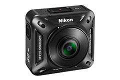 涉入運動攝影機領域 Nikon KeyMission 360亮相