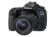 畫素與對焦點皆升級 Canon EOS 80D發表