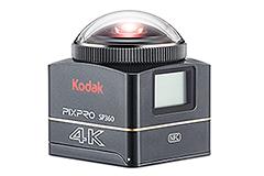 售價15,990元 Kodak 4K全景攝影機登臺