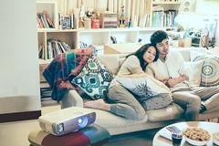 張鈞甯一人分飾三角,BenQ 2016 家用投影機微電影三部曲