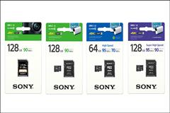 讀取速度90MB/s以上,Sony推出升級高速SD/micro SD記憶卡