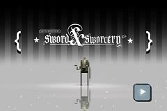 《Sword & Sworcery》: 劍與巫術的意境史詩